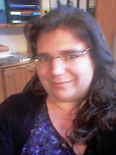Christiane Wandtke, Bezirksvertreterin der Grünen im Bezirk V
