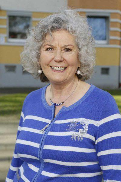 Doris Eisenmenger, 2. stellvertretende Bezirksbürgermeisterin und Fraktionsvorsitzende der Grünen im Stadtbezirk III