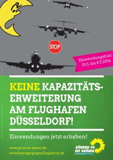 Keine Kapazitätserweiterung Flughafen Düsseldorf