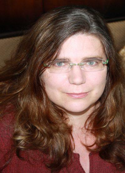 Christiane Wandtke, grüne Bezirksvertreterin in der BV V