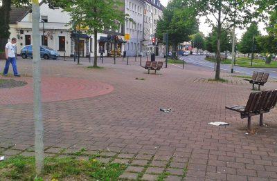 Platz vor der Neuessener Schule/Wilhelm-Nieswandt-Allee/Altenessener Str.
