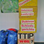 Mit TTIP bekämen wir nicht kein besseres Handelsabkommen, sondern müssten viele unserer EU Sozial- und Umweltstandarts auf den Müll werfen