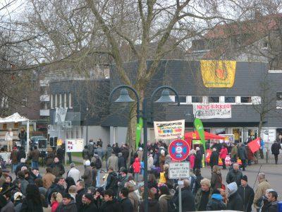 Ein Aktionstag gegen Rechts auf dem Katernberger Markt