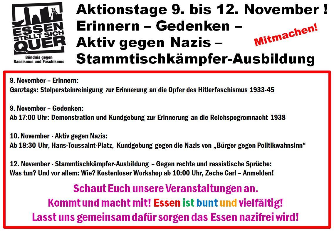 essen nazi demo